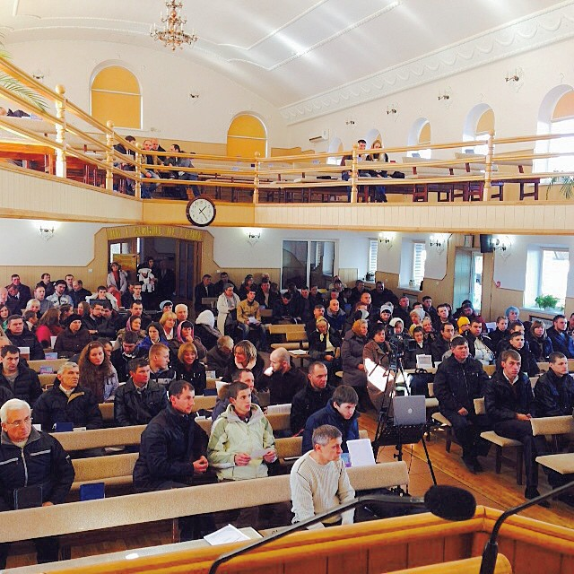 Конференция в Хмельницком-1